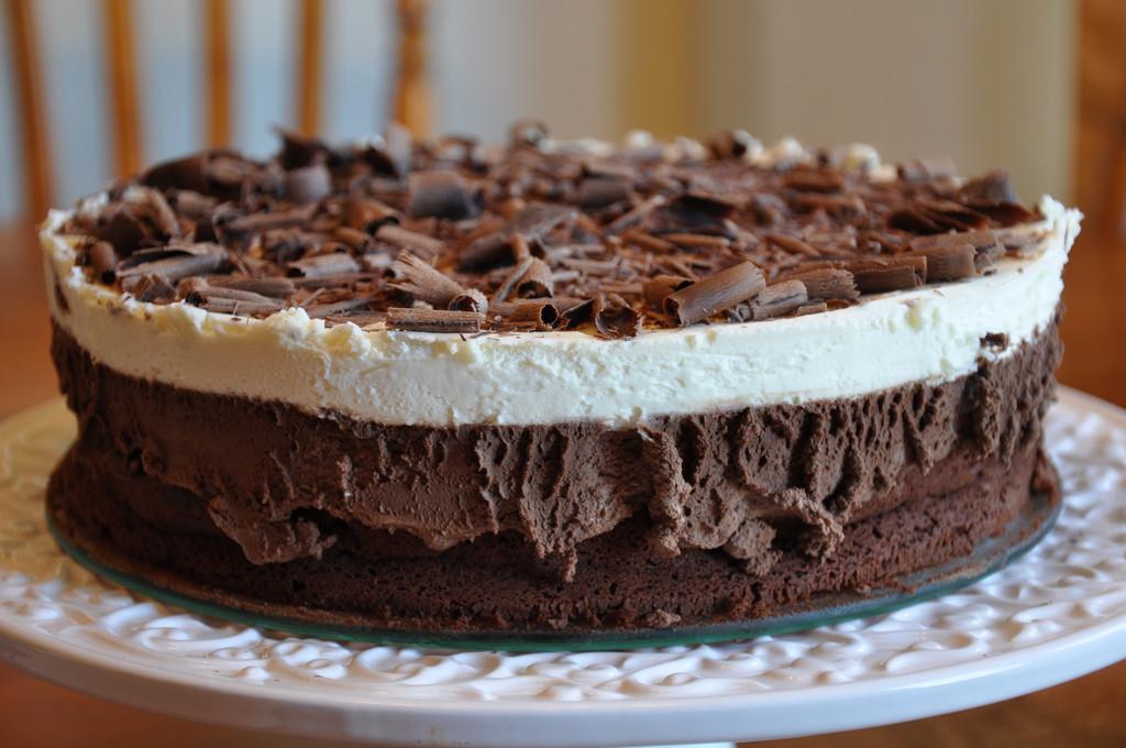 Procedimiento para realizar la tarta de tres chocolates