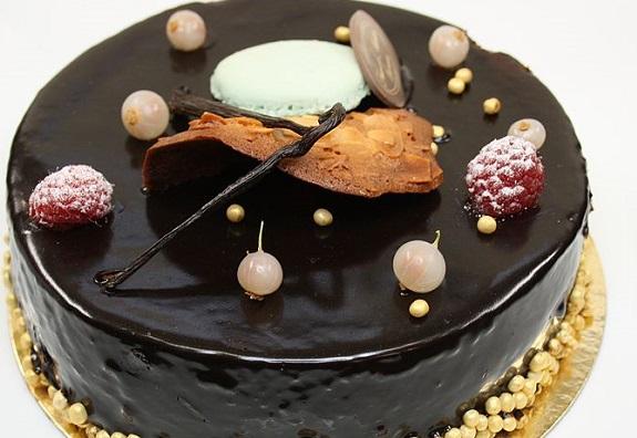 Receta distinta de bizcocho de chocolate con nueces