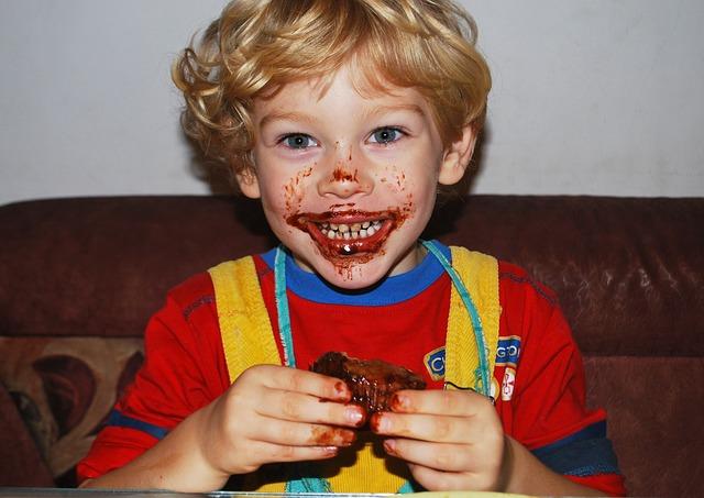El chocolate y los niños consejos