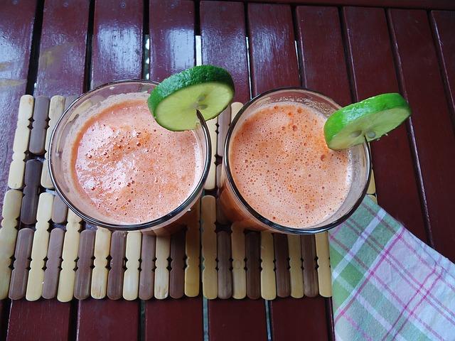 mejores zumos para el verano