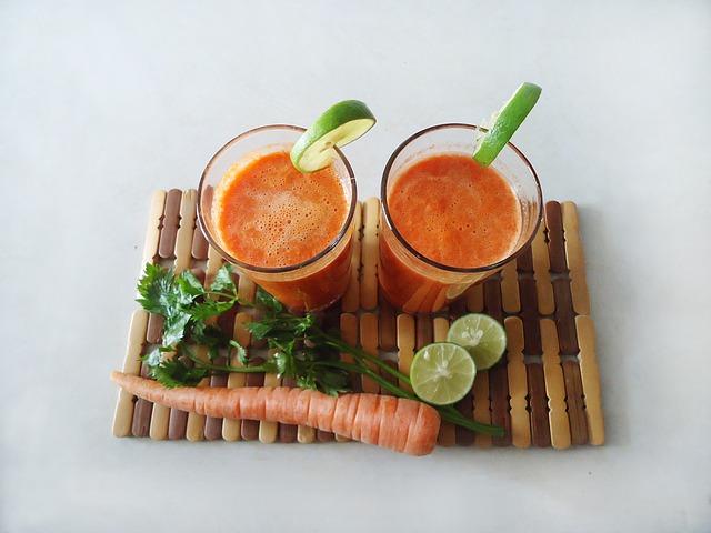 Beneficios del zumo de verduras