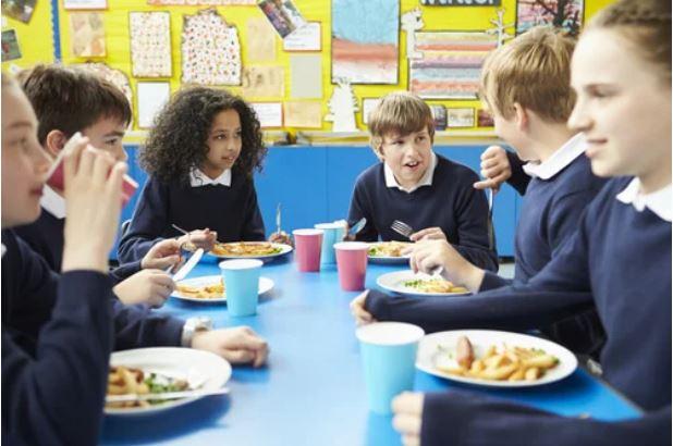 Comedores escolares para niños