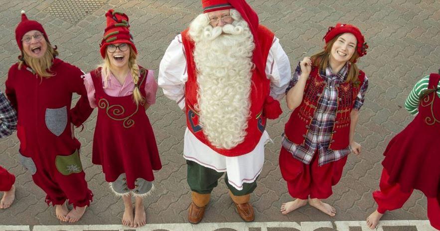La verdadera dirección de Papa Noel